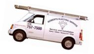 Benjamin Day's Electrical Service Van